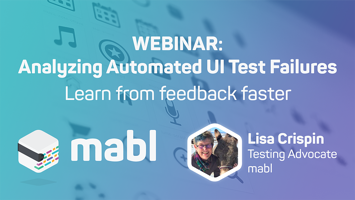 [WEBINAR] Analyzing Automated UI Test Failures