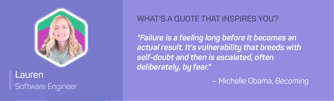 Failure is a feeling long before it becomes an actual result. It's vulnerability that breeds with self-doubt and then is escalated, often deliberately, by fear.