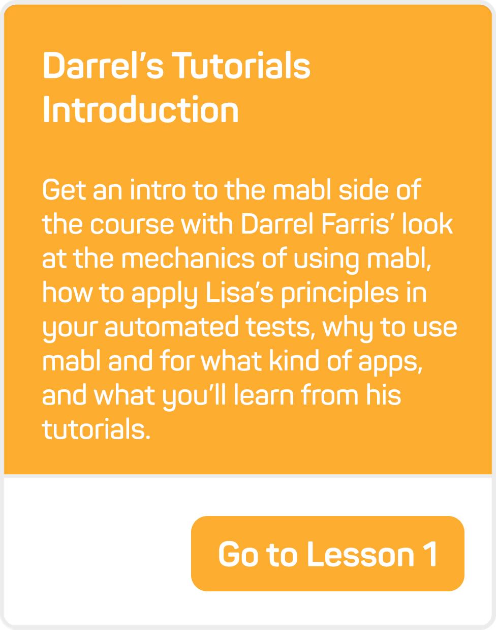 mablU Darrel Lesson 1