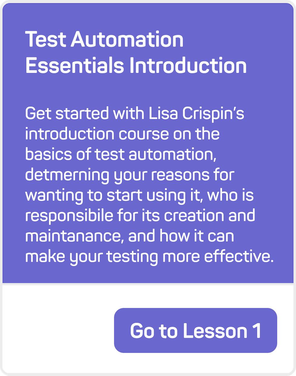 mablU Lisa Lesson 1