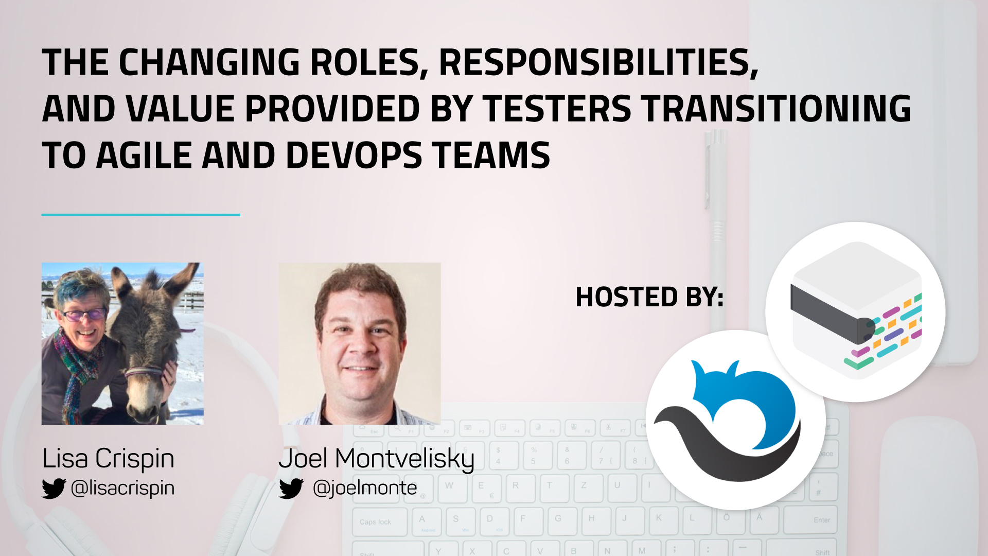 [WEBINAR] Changing roles of testers transitioning to Agile & DevOps