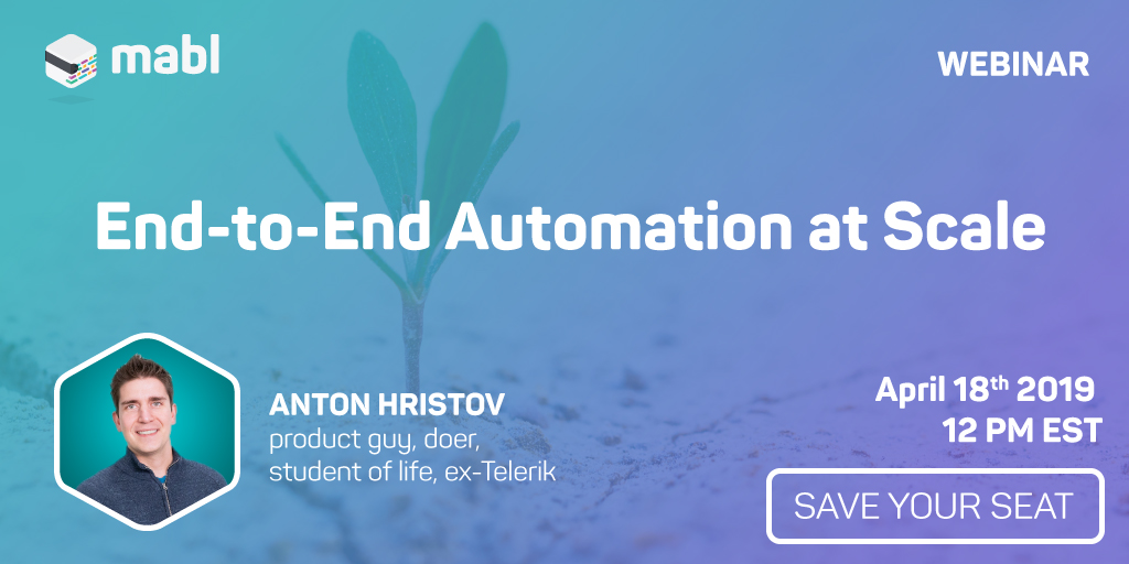End-to-end Automation at Scale | mabl