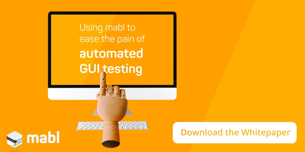 How to ease the pain of automated GUI testing