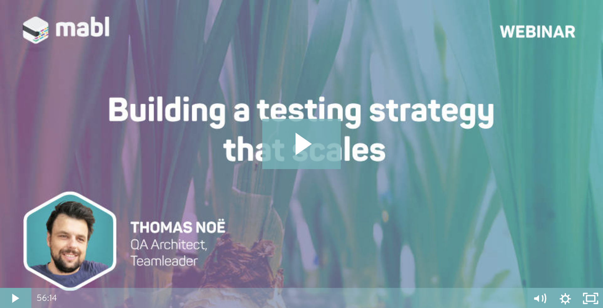 [WEBINAR] Building a testing strategy that scales