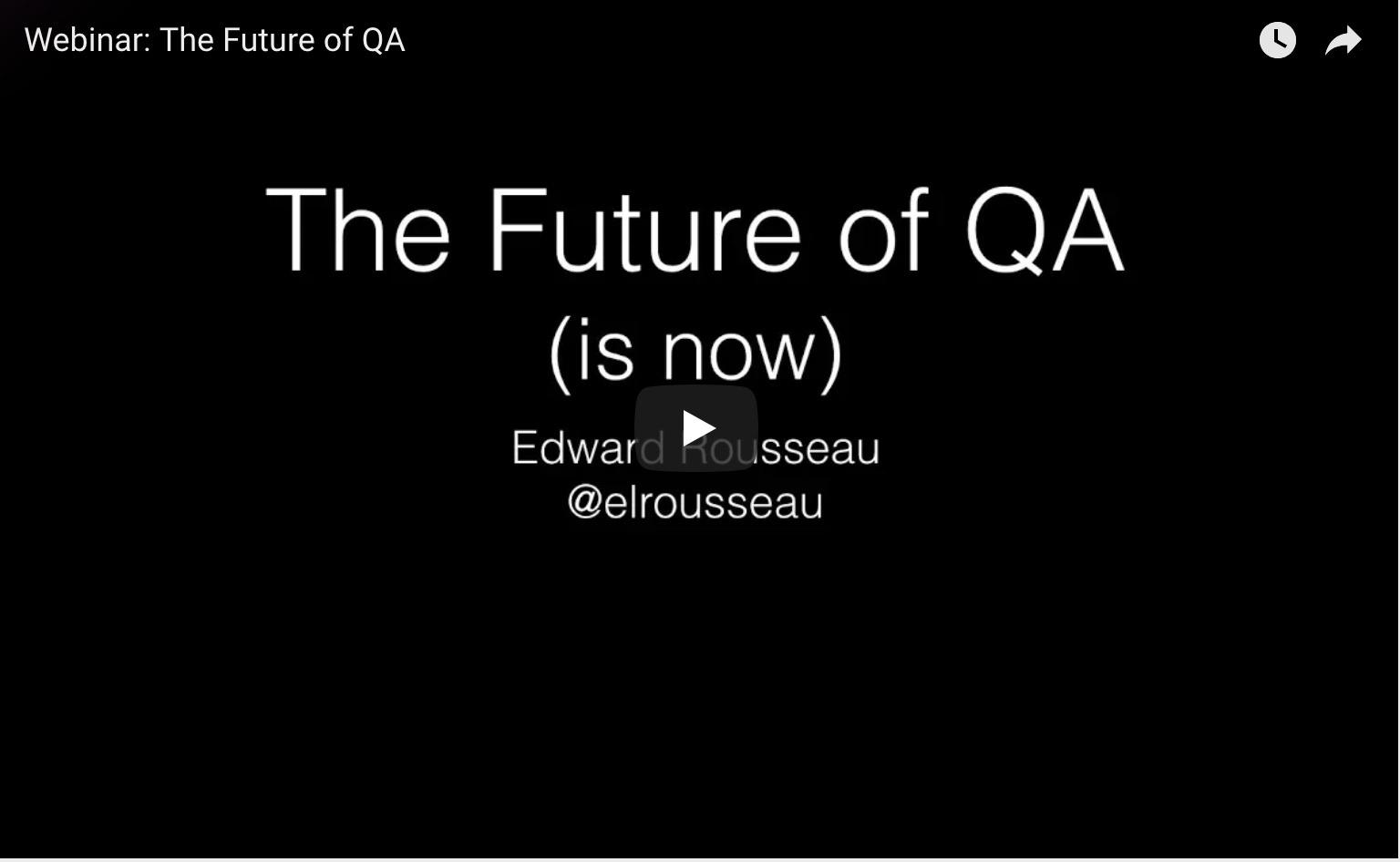 The Future of QA | mabl