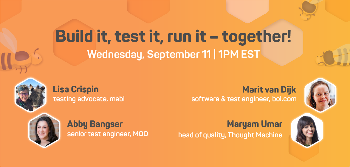 [WEBINAR] A whole team approach to DevOps: Build, test, and run - together!