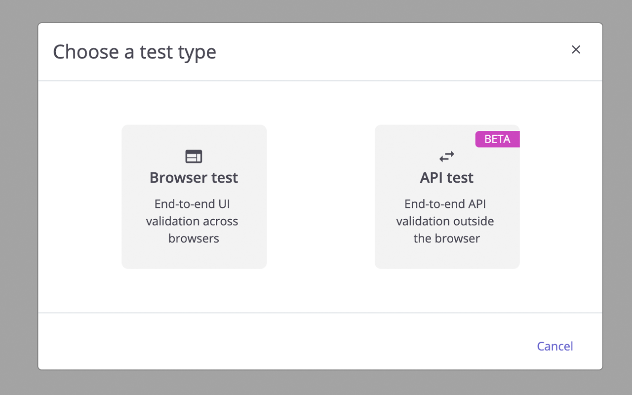 feature api end-to-end